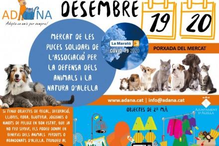 Mercat Solidari Alella La Marato TV3 2020